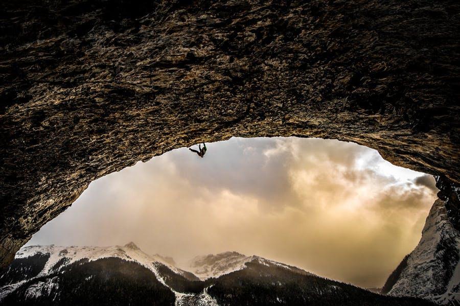 Kyle Dempster climbing