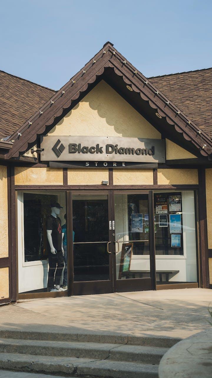 Black Diamond headquarters retail store