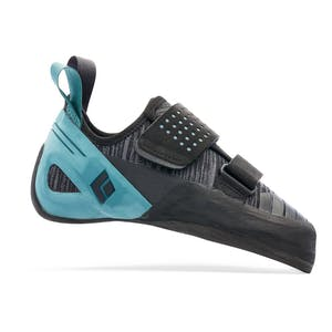 Black and Seagrass Zone Climbing Shoes