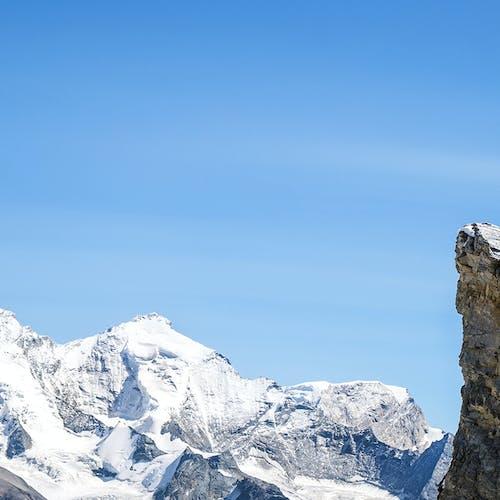 Joe Grant on a rocky ridge