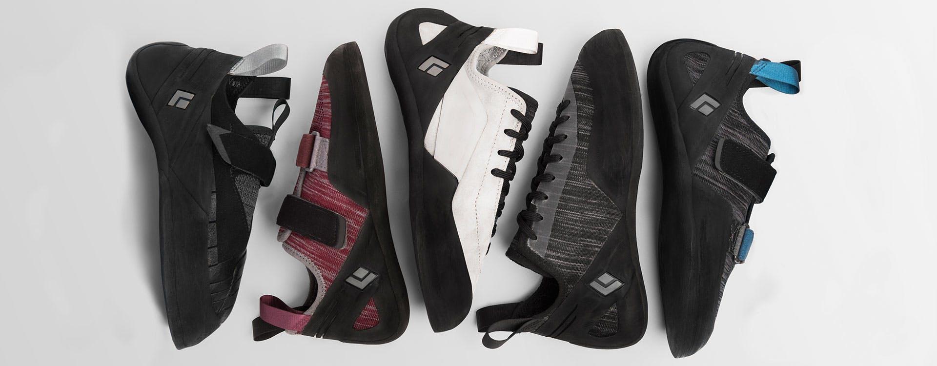 Black Diamond shoe lineup