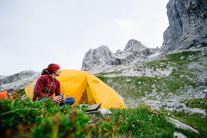 Babsi Zangerl camping