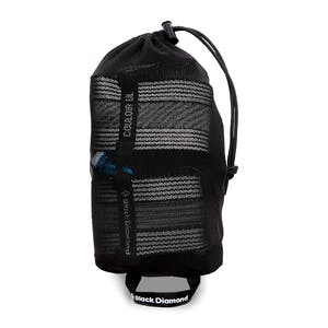 The Black Diamond Couloir UL ultra-lightweright and packable.