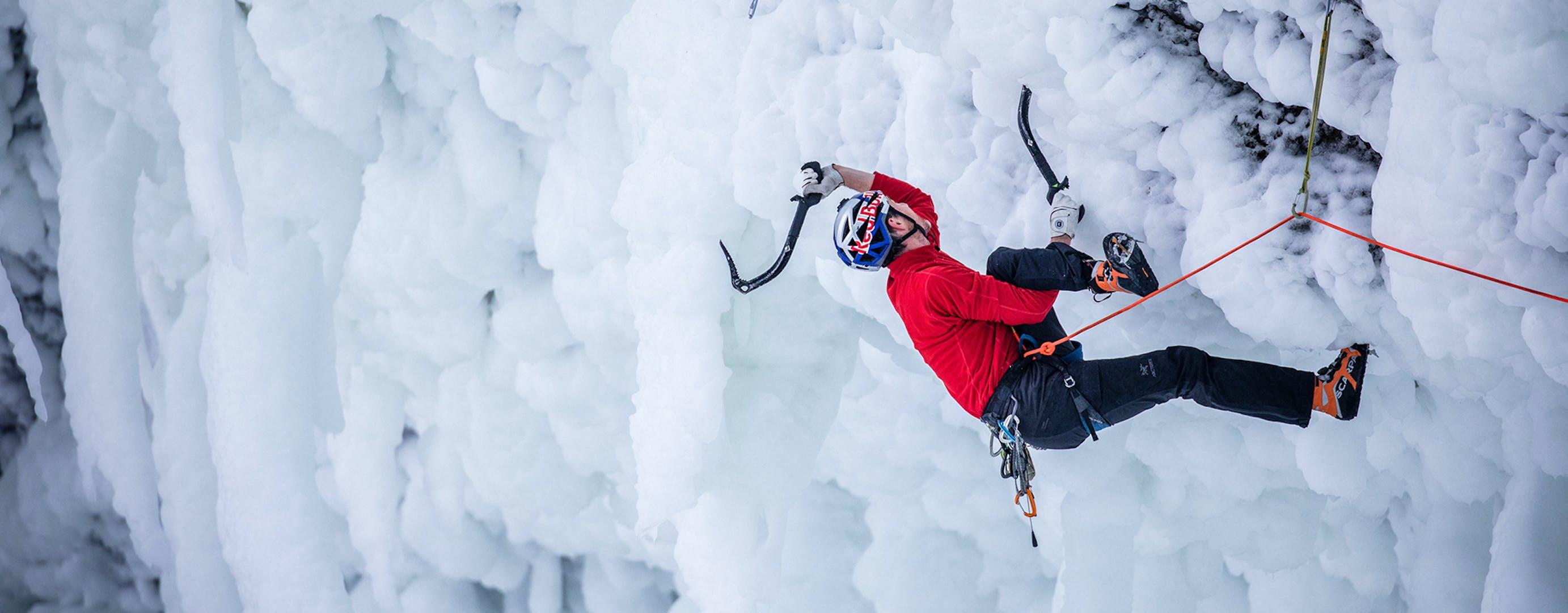 Will Ice Climbing.