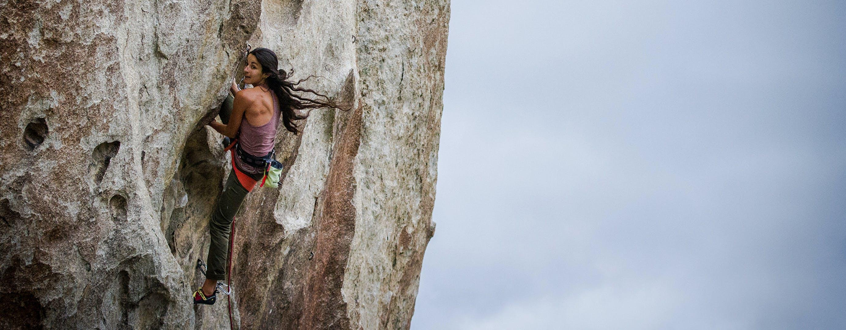 Daila Climbing.