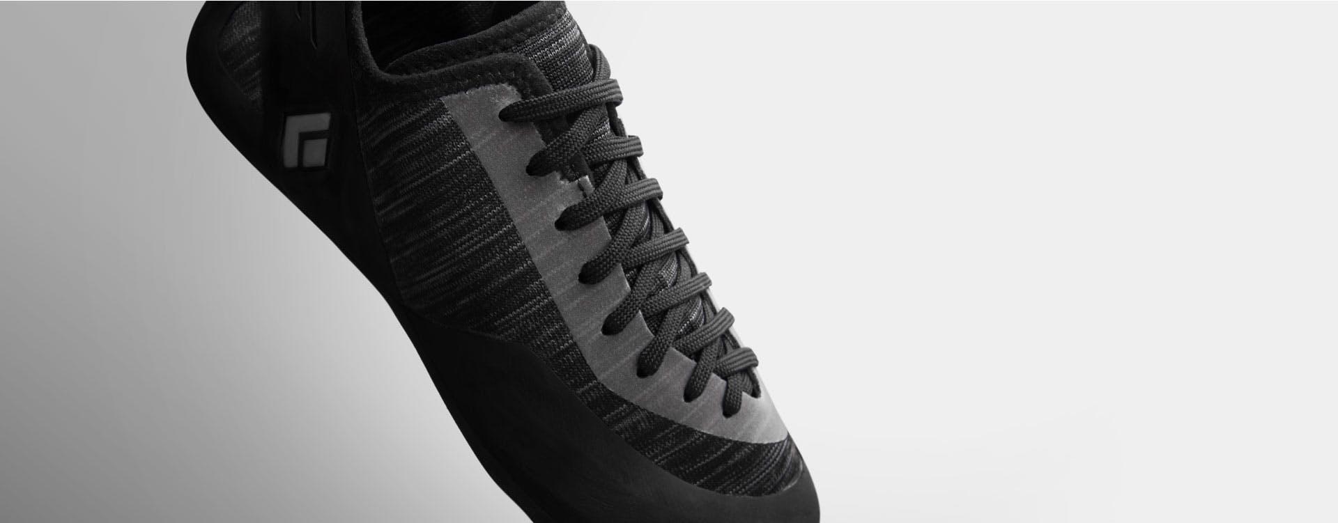 close up of BD shoe