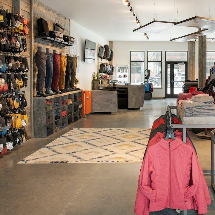 Black Diamond retail store interior