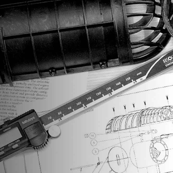 Zeichungen von Konstruktionen