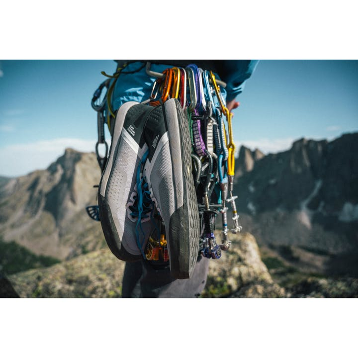 Photograph by Tim Kemple Rack with Shoes in the Wind Rivers