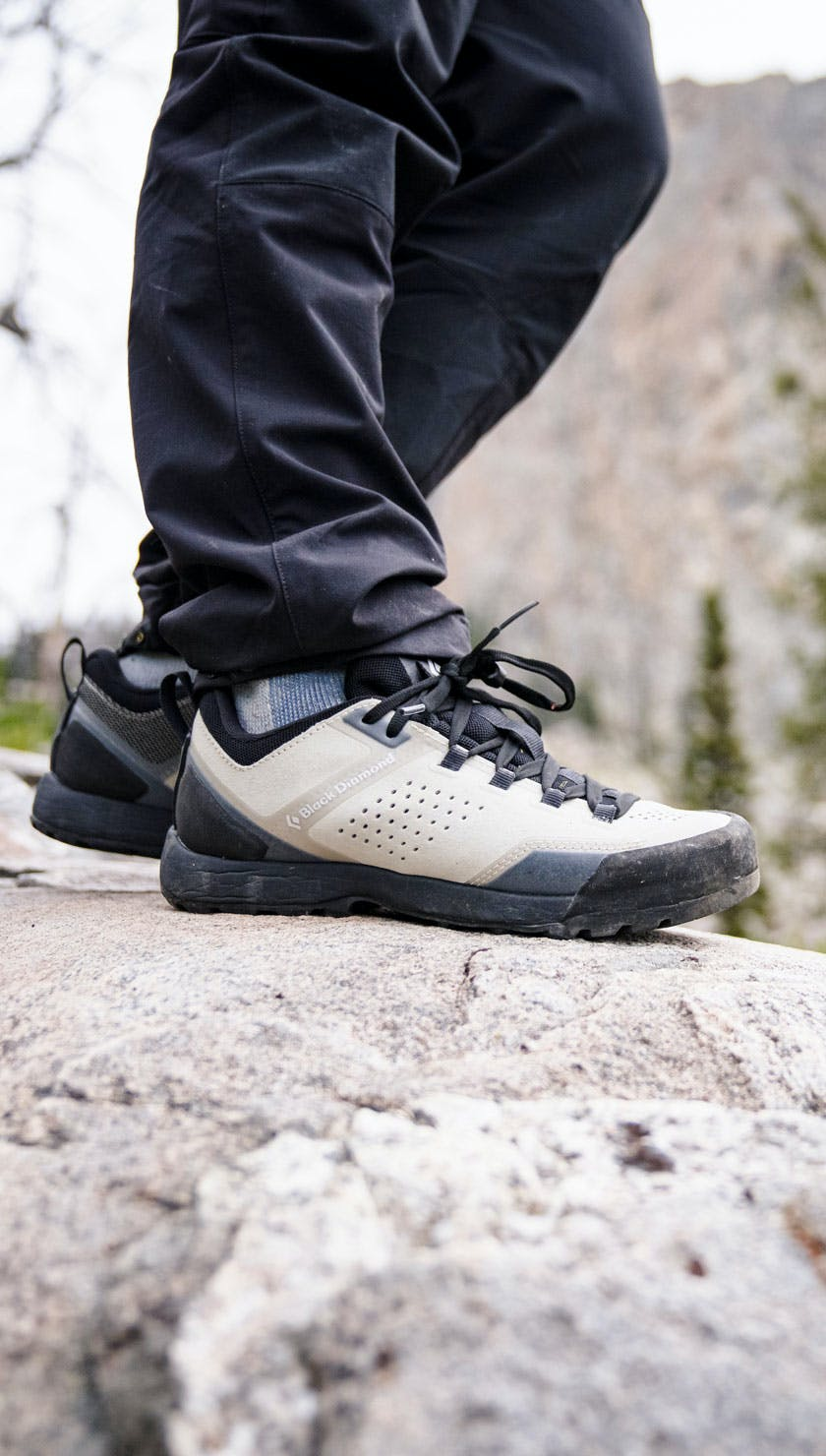 The Black Diamond Mission XP Approach Shoe in the Grand Tetons