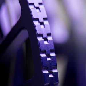 close up on a camalot c4
