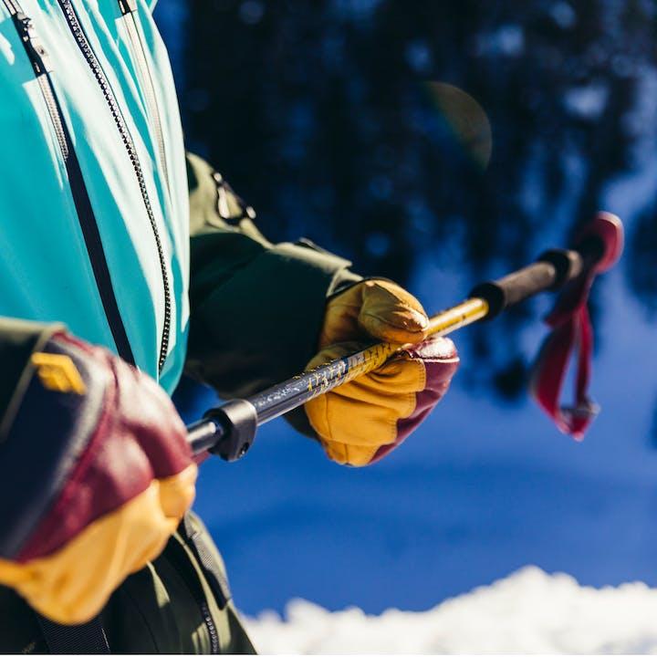 Black Diamond Athlete Johnny Collinson's Pro Model Expedition Pole.