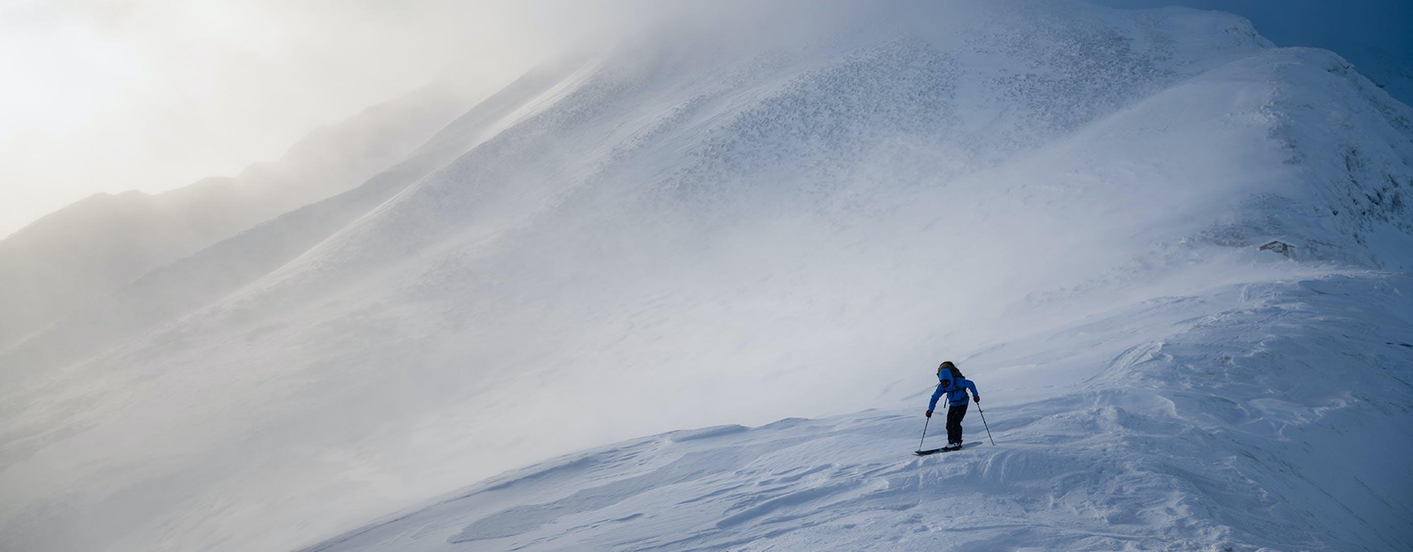 Parkin Ski Touring.
