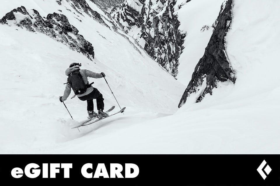 Ski Theme Gift Card