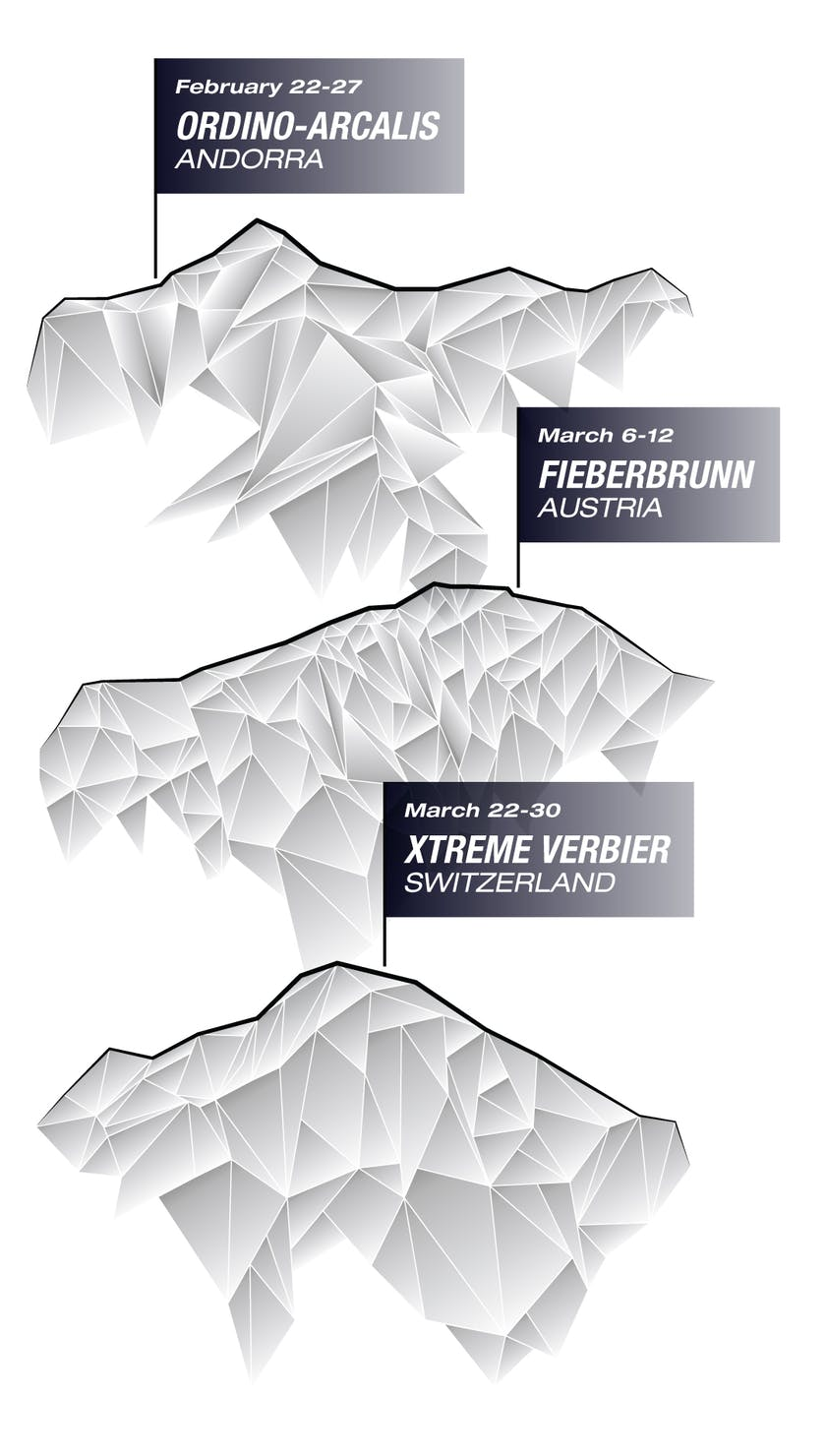 The 2021 Freeride World Tour Schedule