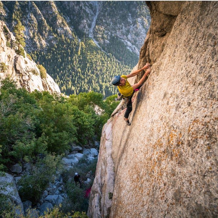 Climbing in Utah