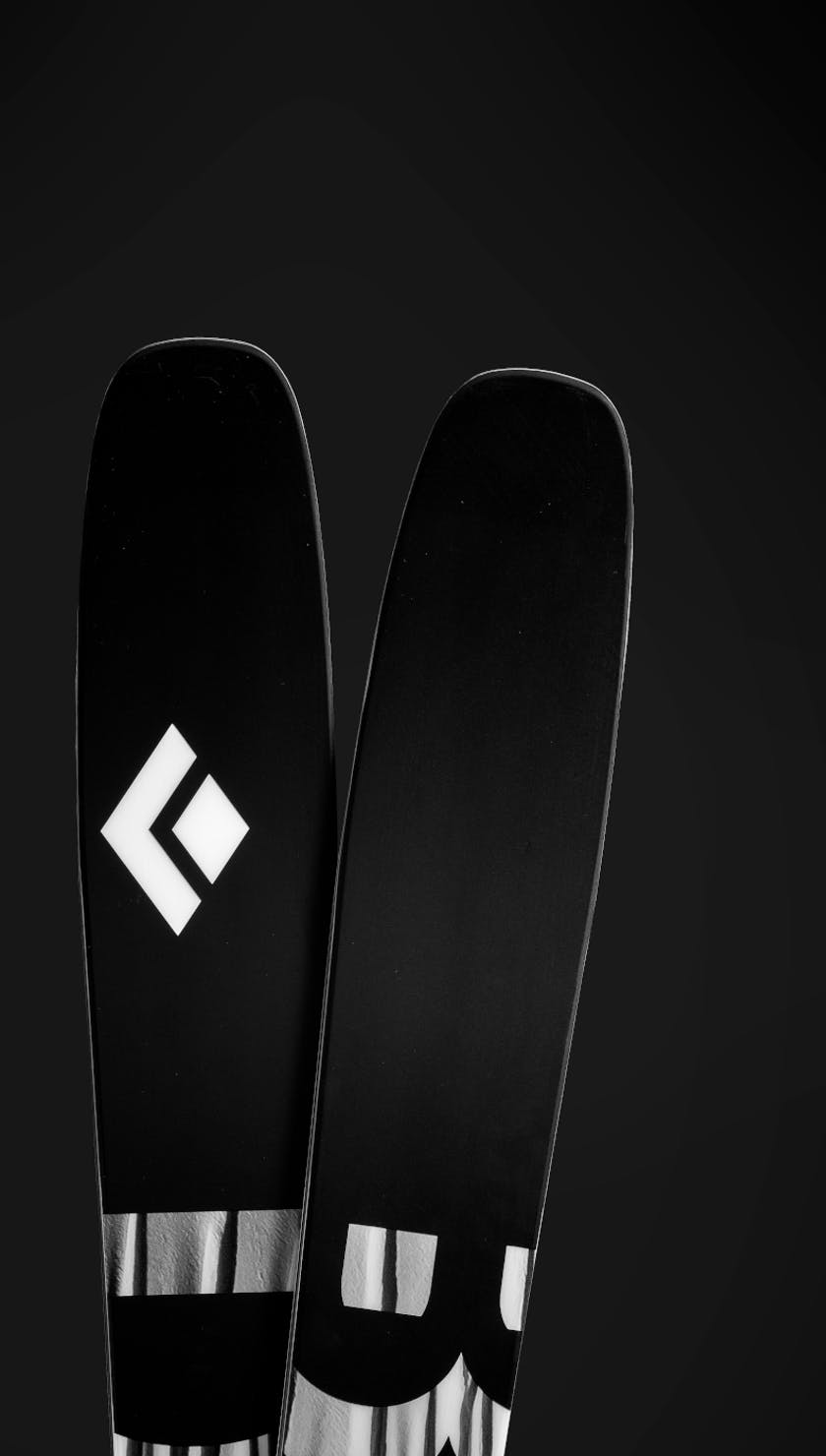 The new Black Diamond Impulse 104 ski.