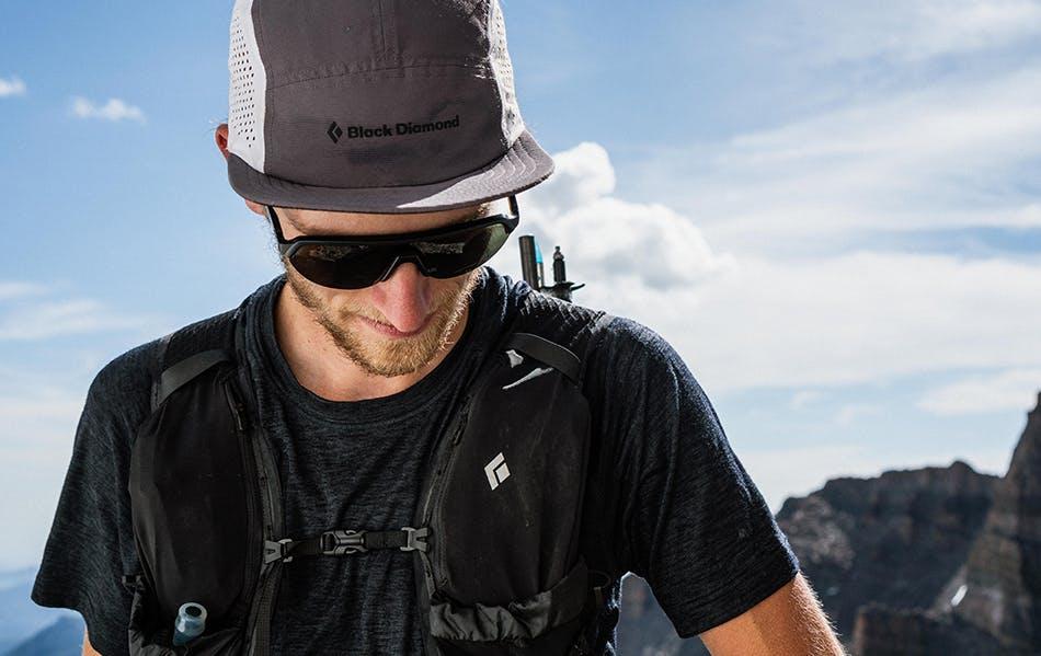 Kyle Richardson on top of Long Peak