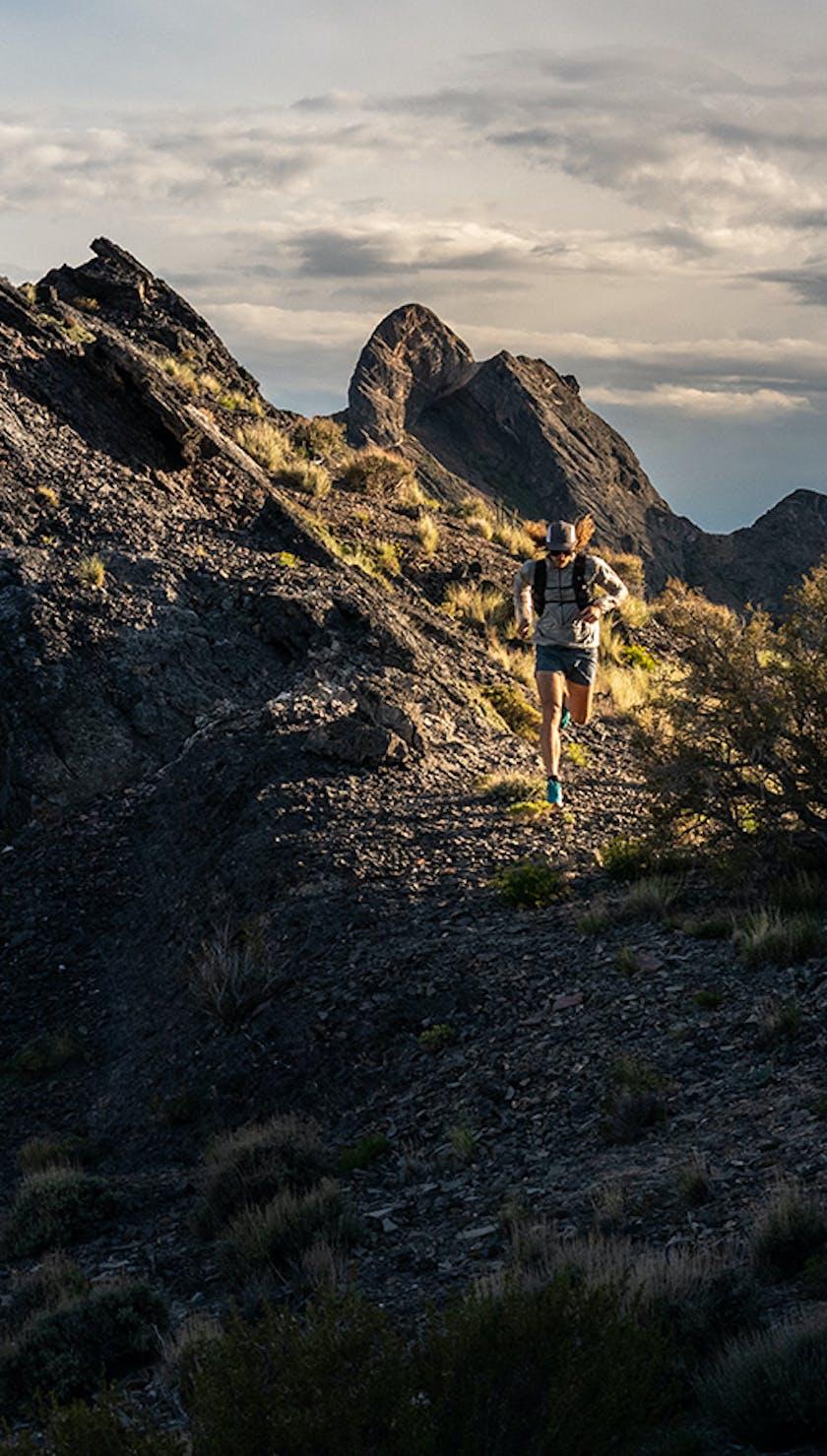 Joe Grant running