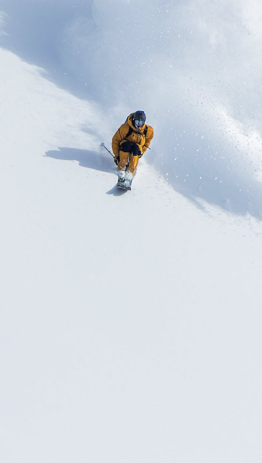 BD Athlet Parkin Costain skiing Backcountry