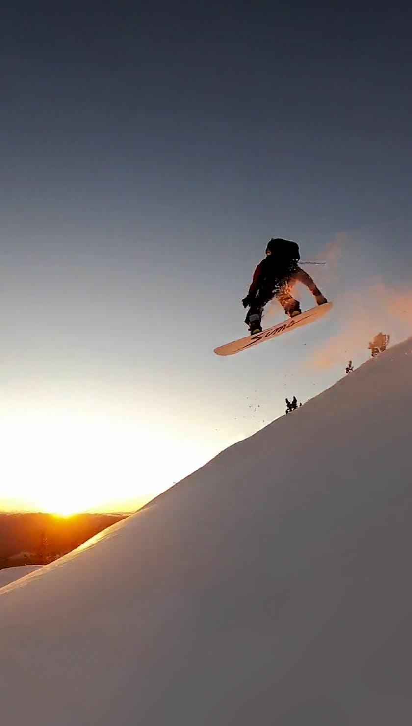 BD Athlete John Jackson sending a cliff