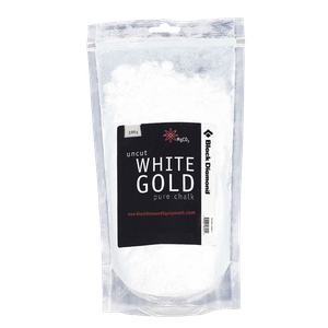 Bag of White Gold Climbing Chalk