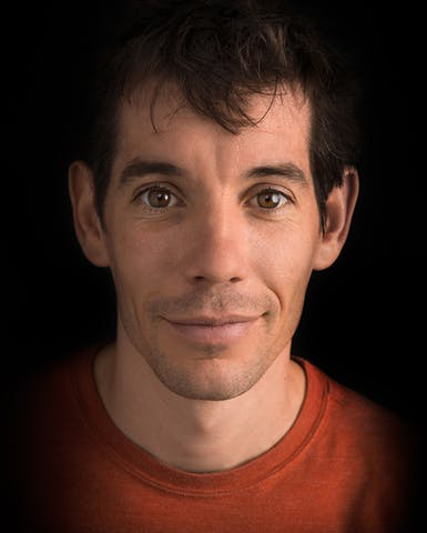 Portrait of Alex Honnold