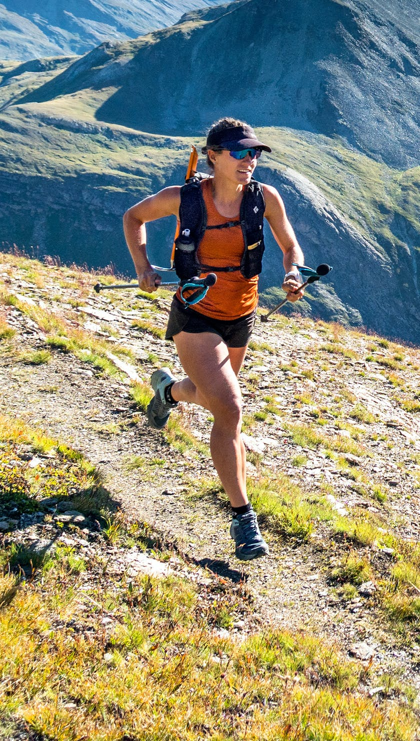 BD Athlete Hillary Gerardi trail running