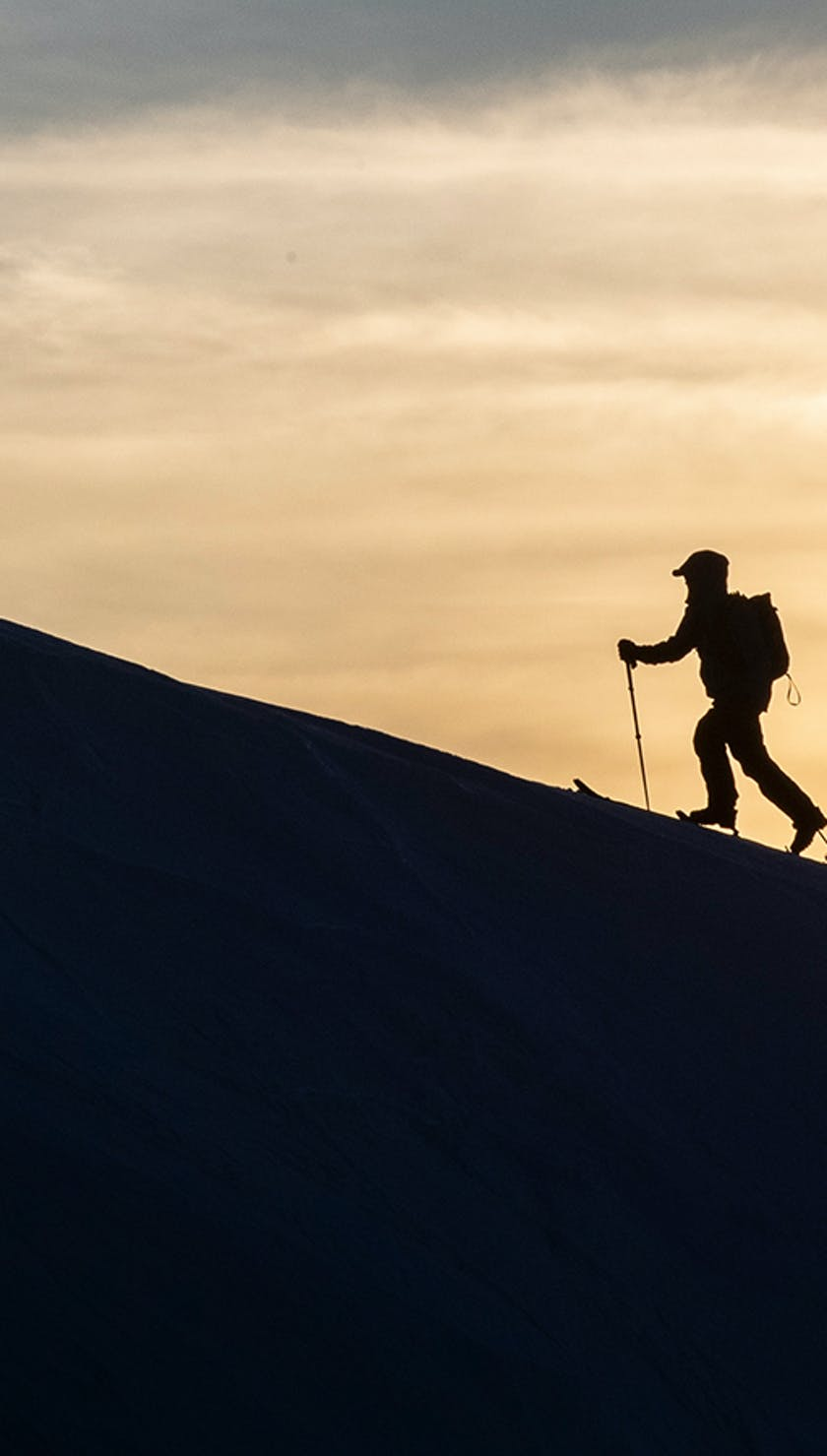 skinning at sunrise