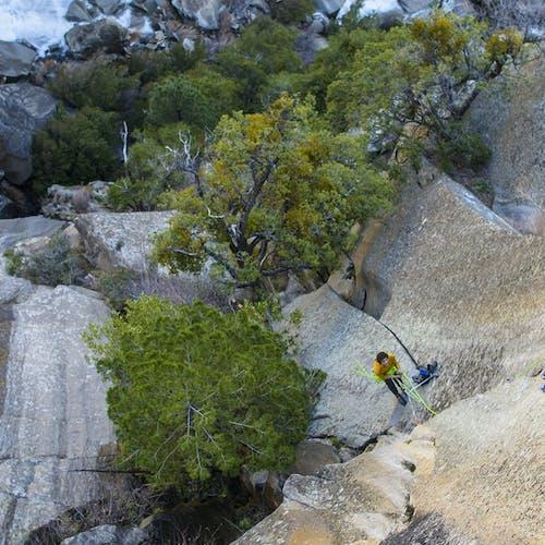 Carlo climbing