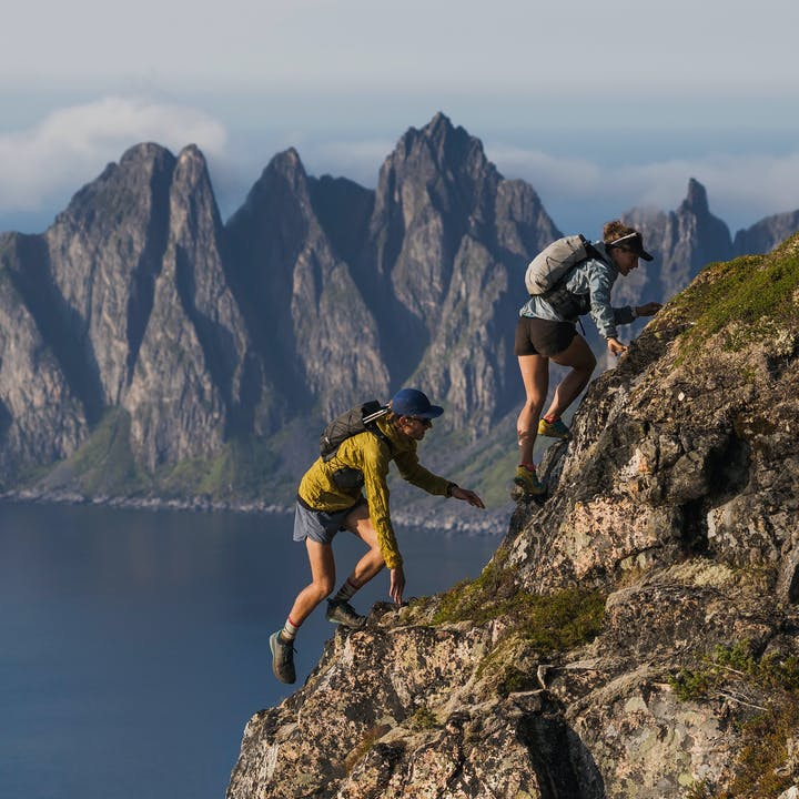 BD Athletes Hillary Gerardi and Kyle Richardson running in Norway | Trail Running