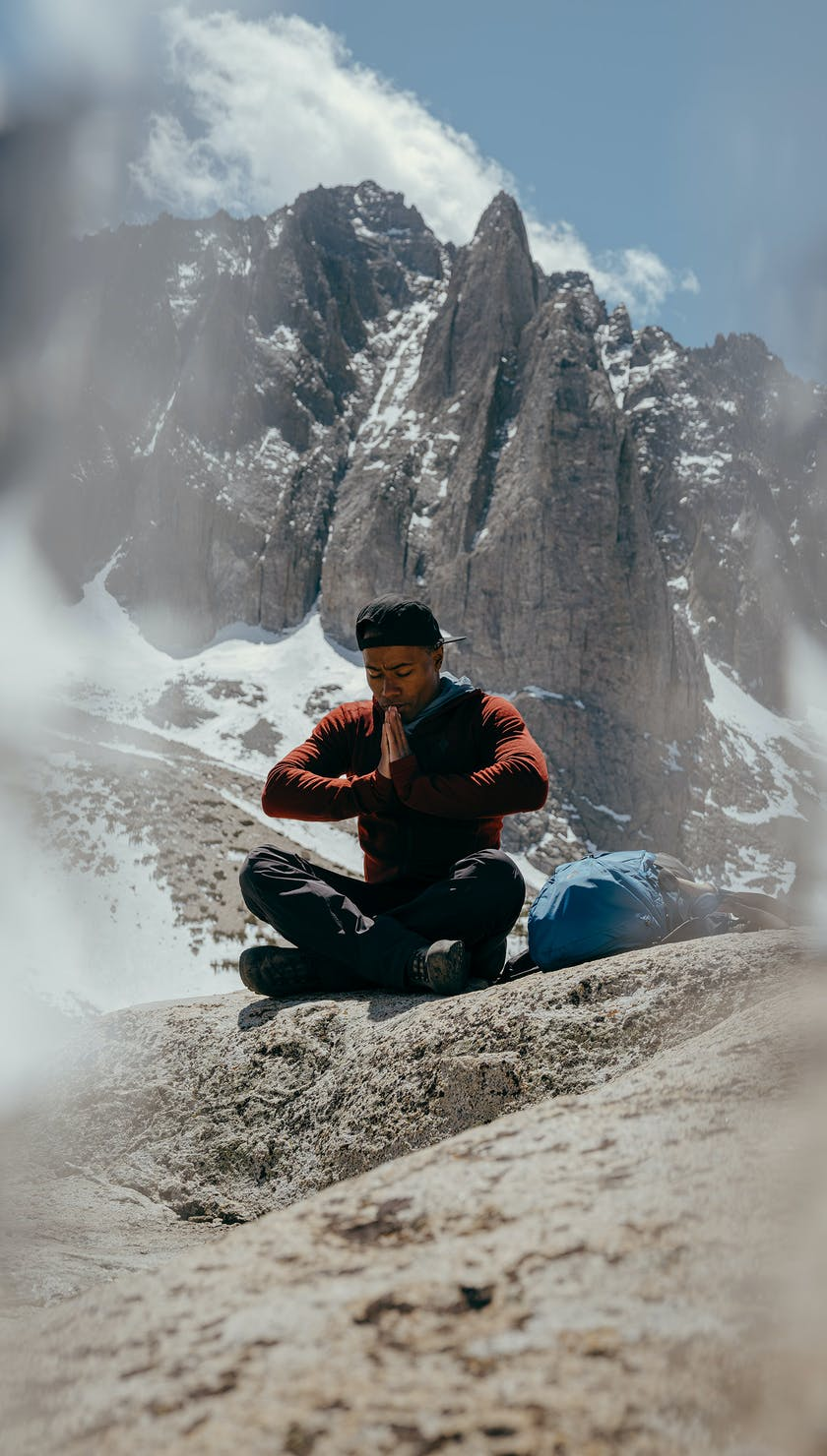 BD Ambassador Andrew King in the high Sierras