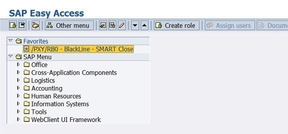 Direkt in SAP entwickelt