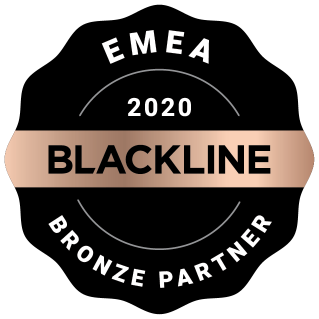 EMEA 2020 BlackLine Bronze Partner