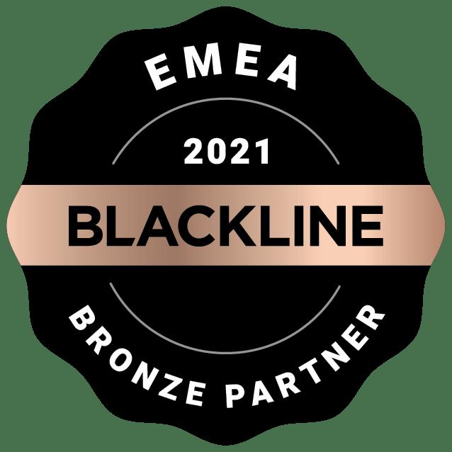 EMEA 2021 Bronze Partner Image | BlackLine