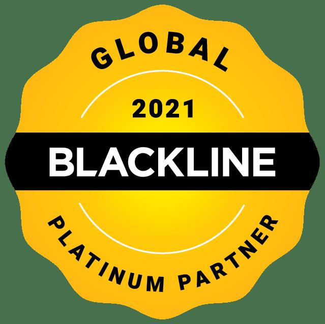 Global 2021 Platinum Partner Image | BlackLine