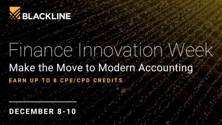 Finance Innovation Week 2020 Image | BlackLine Magazine