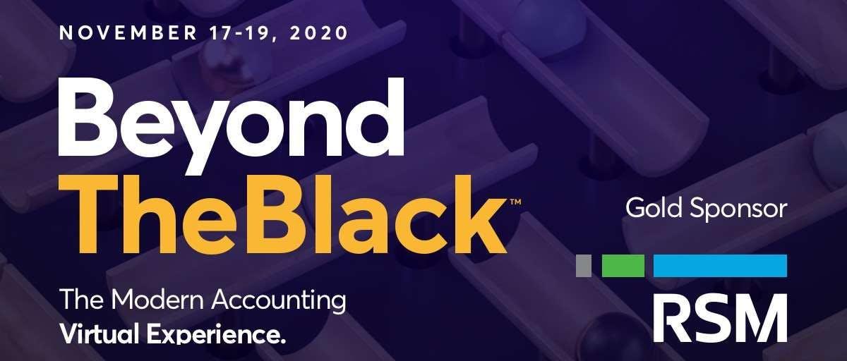 BeyondTheBlack Sponsor | RSM