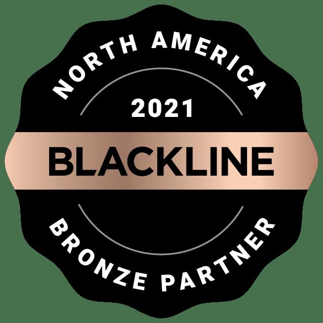 North America 2021 Bronze Partner Image | BlackLine