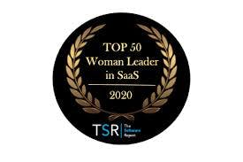 Therese Tucker, founder and CEO of BlackLine, has been named a Top Woman Leader in SaaS Image