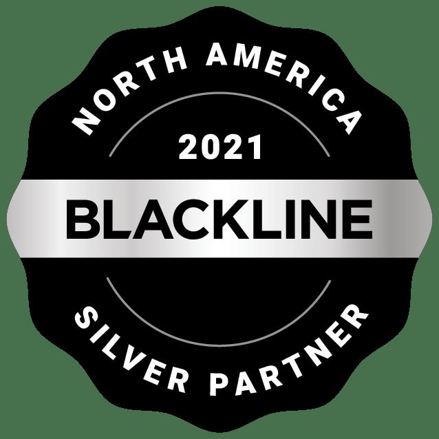 North America 2021 Silver Partner Image | BlackLine