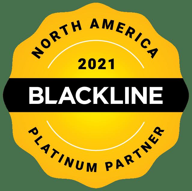 North America 2021 Platinum Partner Image | BlackLine