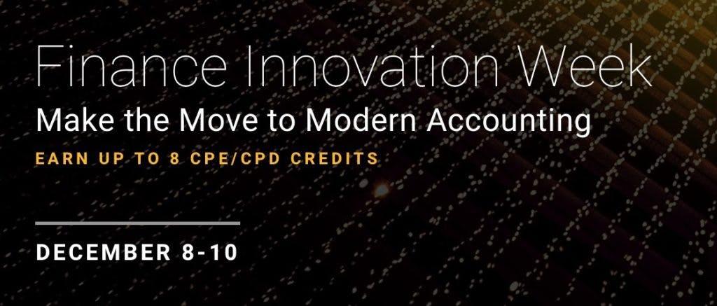 Finance Innovation Weel 2020 Image