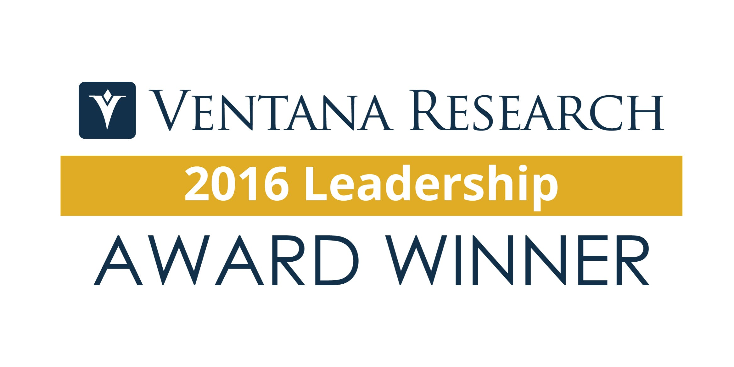 Ventana Research Leadership Award Image