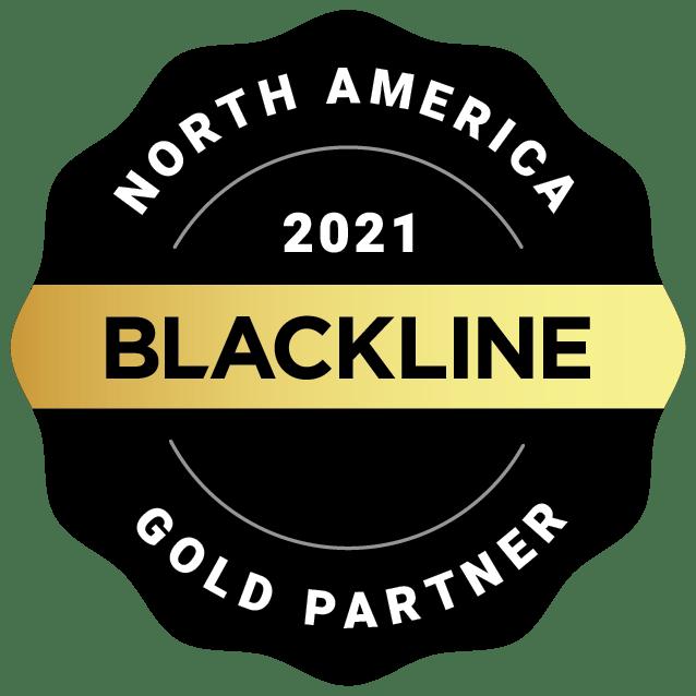 Global 2021 Gold Partner Image | BlackLine