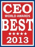 BlackLine CEO and Founder Therese Tucker won a 2013 CEO World Award in  the category of 'Women CEOs of the Year' Image