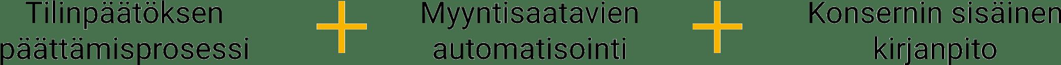 Financial Close Management + AR Automation + Intercompany Accounting
