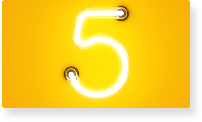5 Wege