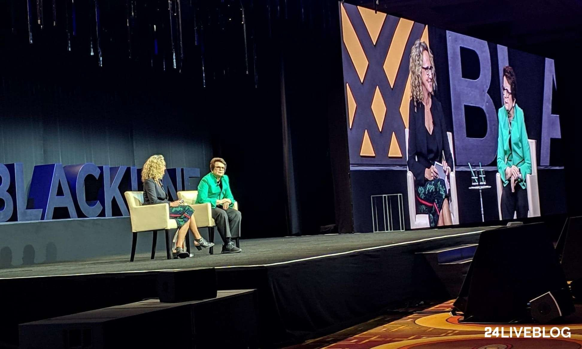 A Fireside Chat with Billie Jean King Image | BlackLine Magazine