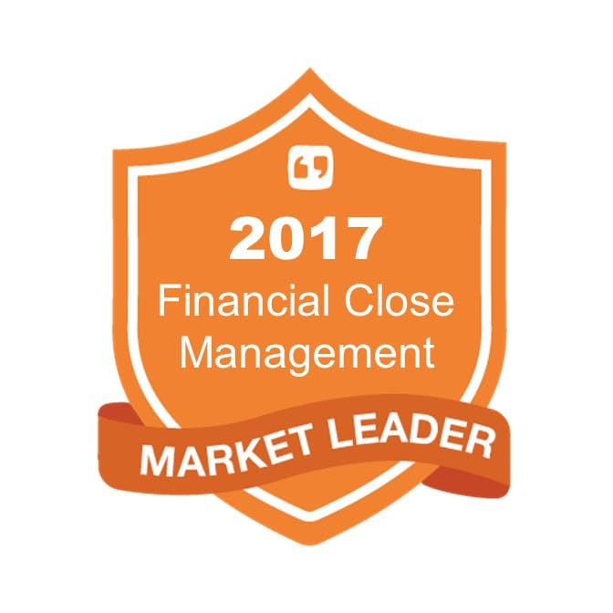 BlackLine was named a 2017 'Market Leader in Financial Close  Management' Image
